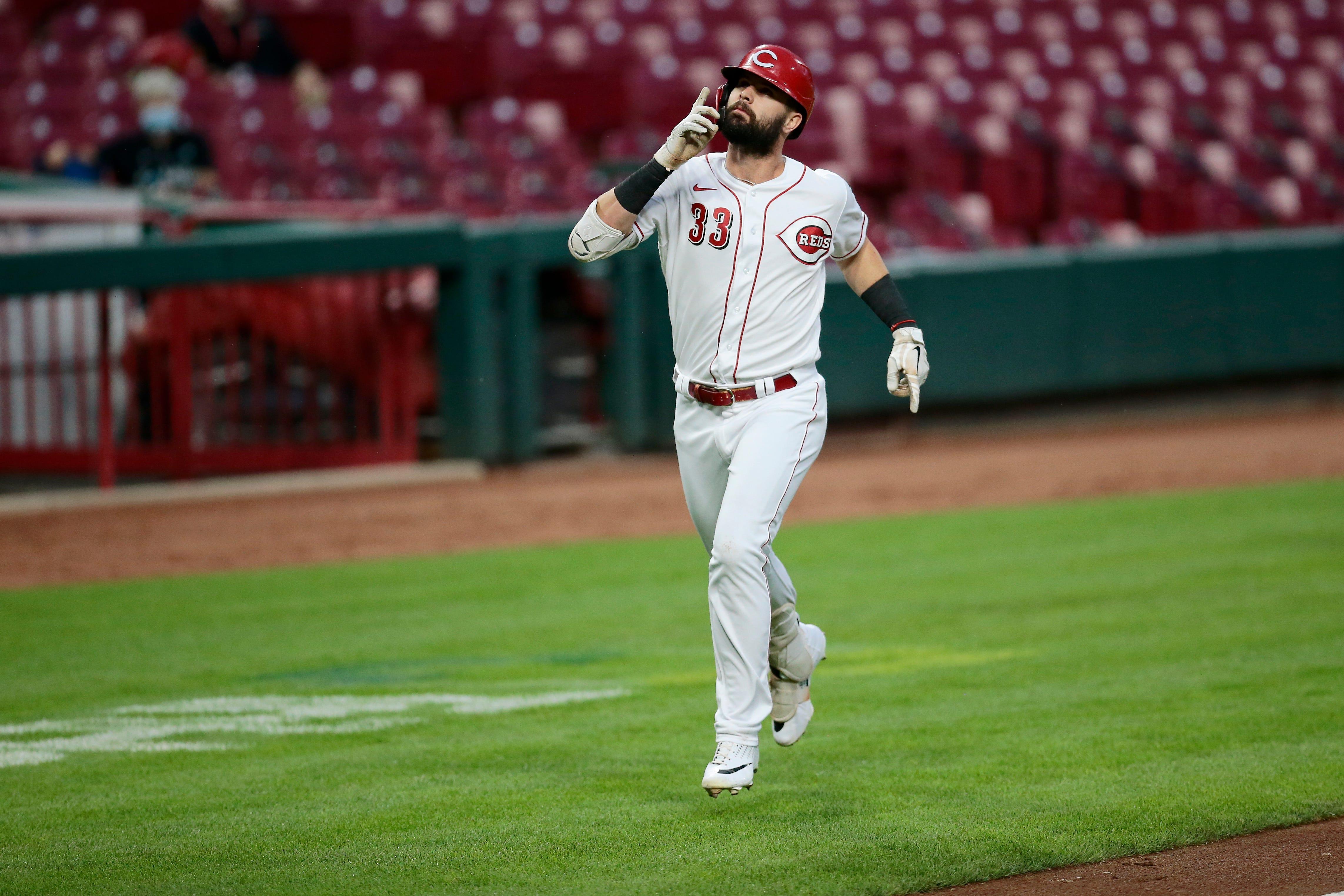 Jesse Winker: Outfielder led Cincinnati Reds in hitting in 2020