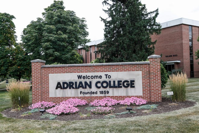 Adrian College in Adrian, Friday, Aug. 14, 2020.
