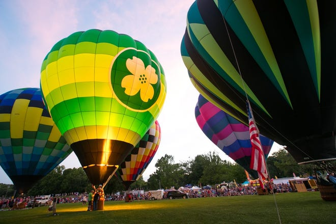 The Balloon Glow event is a fundraiser for the nonprofit Children's Smile Center.