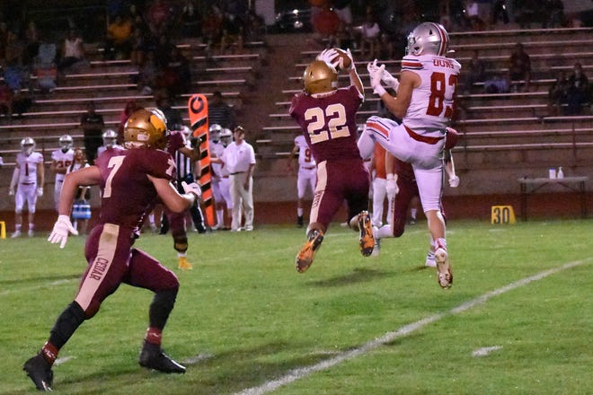 Cedar needed two overtimes to defeat Spanish Fork 28-21 on Friday.
