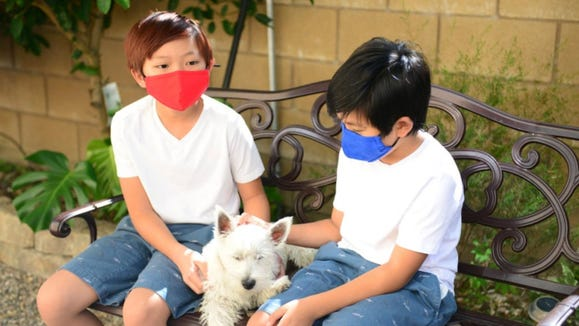 These comfortable, breathable, easy-to-wear masks are good for kids who need something durable.