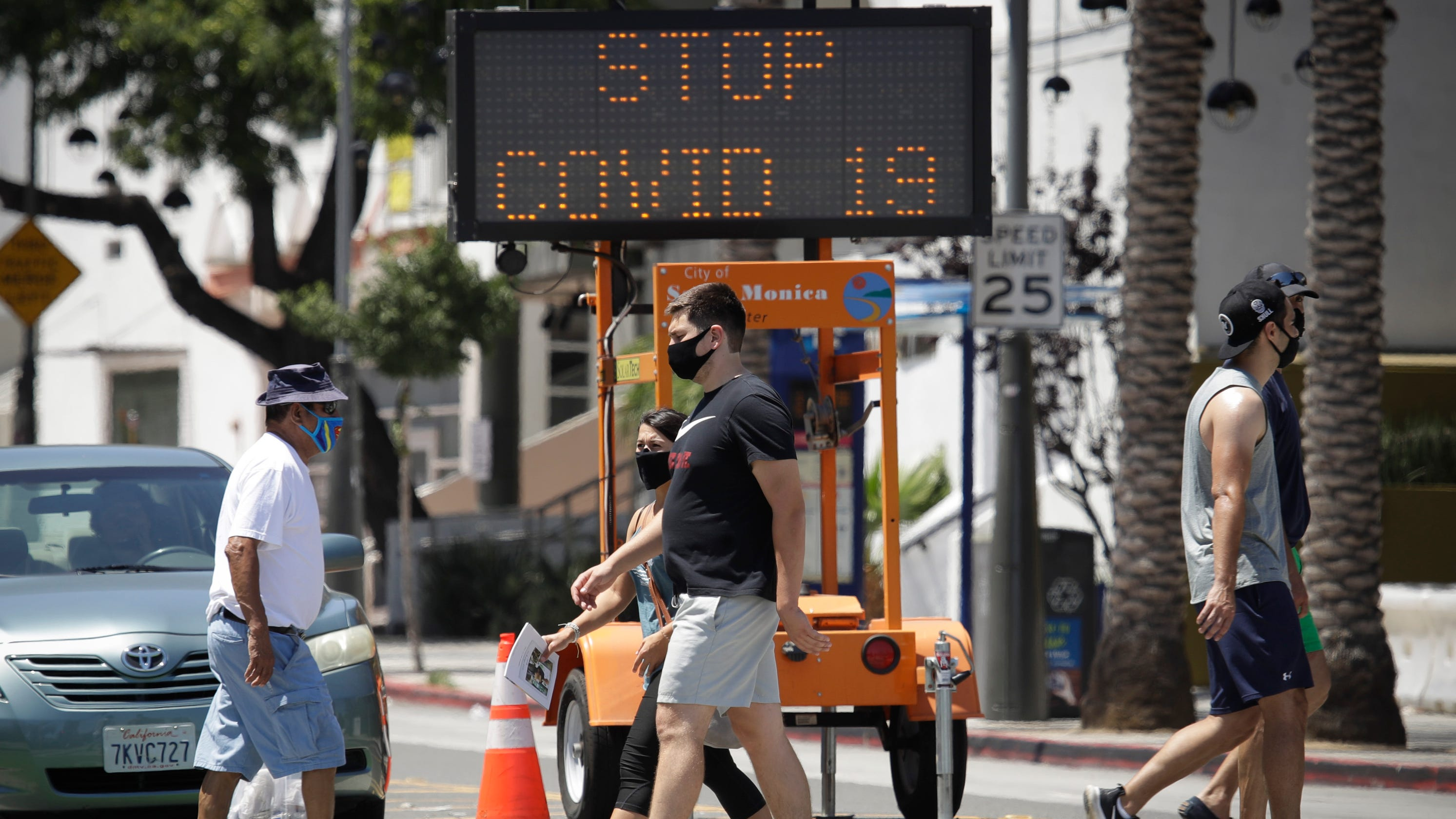 Coronavirus live updates: CDC director says tide is turning in the South; 10th MLB team postpones game; Another US senator tests positive