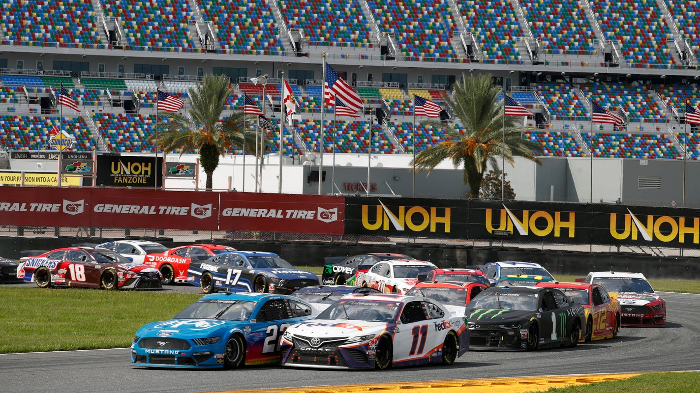 In surprise scheduling move, NASCAR makes Daytona road course second race of 2021