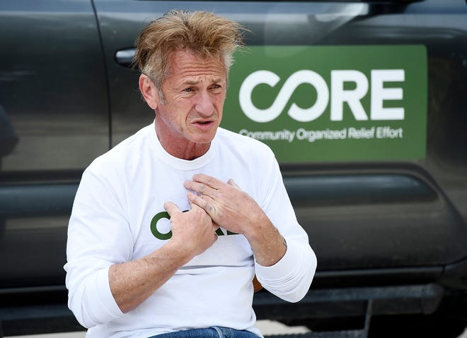 Actor Sean Penn is turning 60. [Chris Pizzello/The Associated Press]