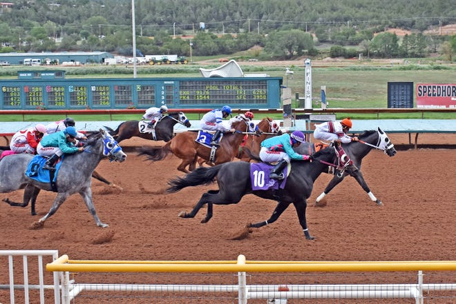 Bad Monkey won a key quarter horse stakes race on Saturday at Ruidoso Downs Race Track and Casino.