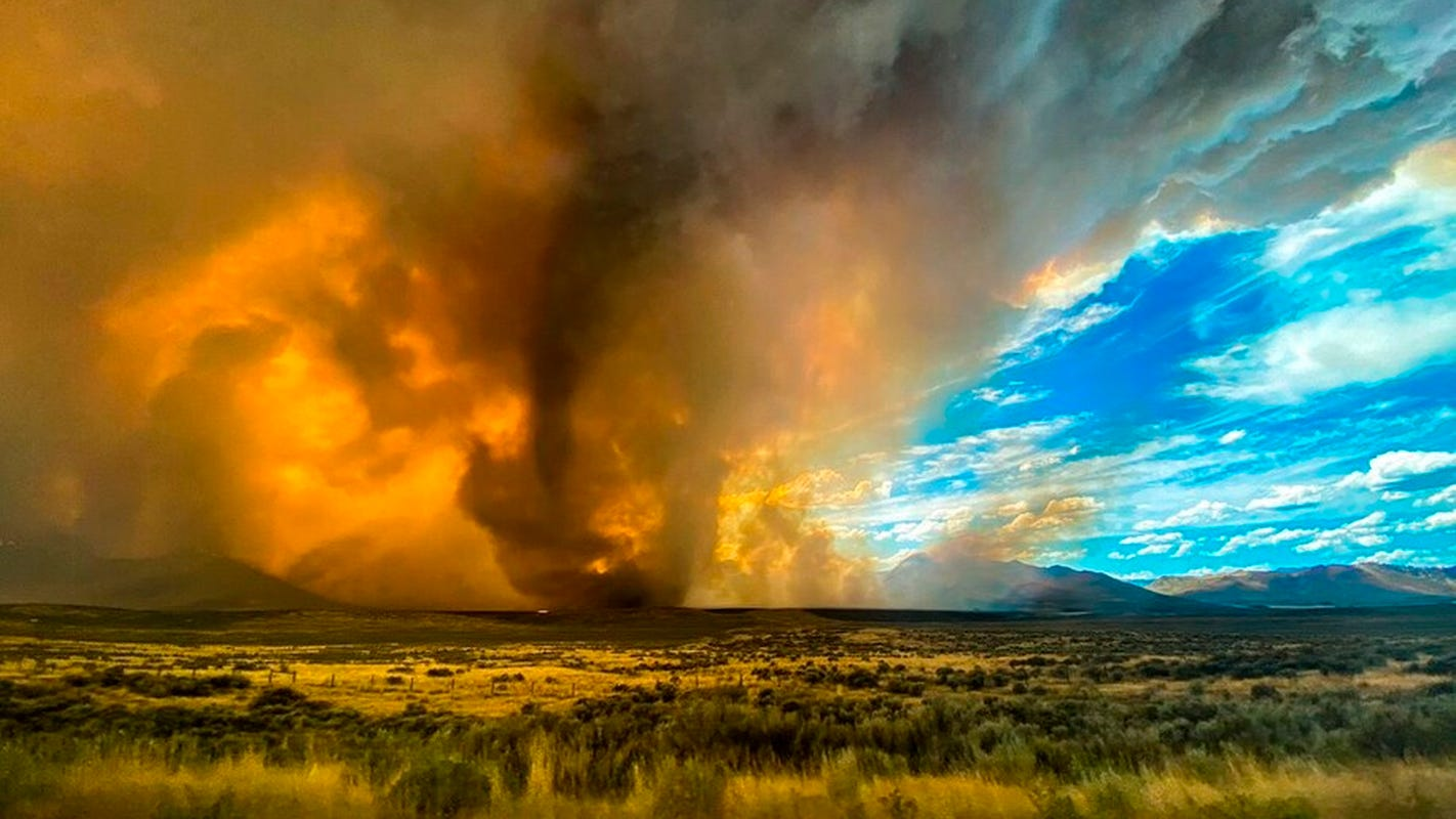 What is a fire tornado? 'Extreme fire activity' sparks rare weather warning at Loyalton Fire near Reno. – USA TODAY