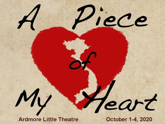"""A Piece of My Heart"" flyer."