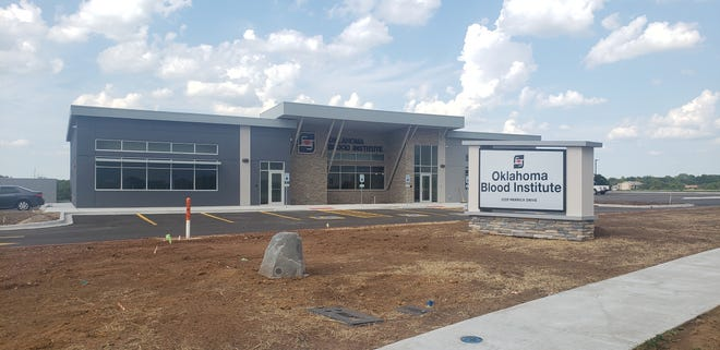 The new Oklahoma Blood Institute is one of the many buildings that will be opening in the near future. The building has recently cleared all city inspections, and the OBI is now putting the finishing touches on the building.