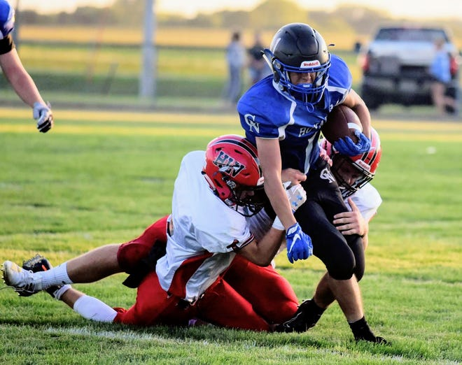 Andrew Grover ran for over 1,000 yards last year for Colo-NESCO. He is part of an experienced returning group for the Royals in 2020.