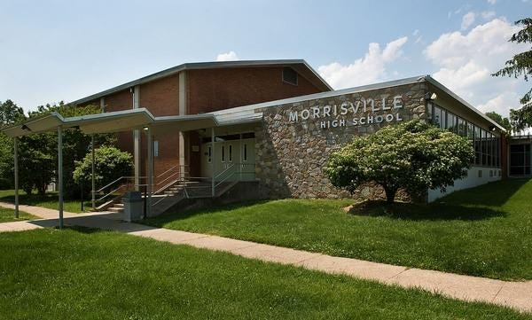 File - The state Department of Education will provide $500,000 in supplemental funding to the Morrisville School District, which has raised taxes and considered staffing and program cuts to stay afloat in recent years.