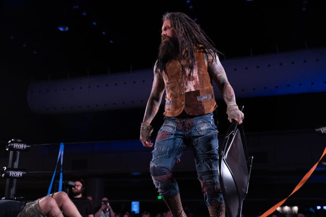 Vinny Marseglia and the rest of the Ring of Honor roster will get back to live tapings of the company's television show later in August. [IAN STORCK/RING OF HONOR]