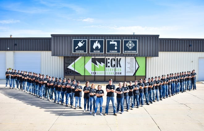 With 50 employees, Eck Services, based in Kingman, was named an Inc. Magazine top 5,000 list small business in the nation.