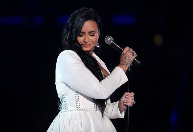 Demi Lovato is turning 28. [Matt Sayles/Invision/AP]