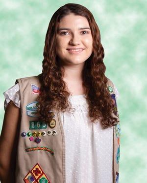Venice Girl Scout Kaitlyn Shehorn.