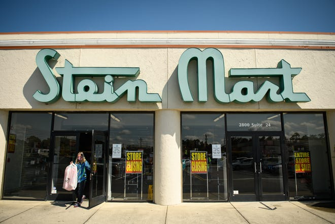 Stein Mart, which has been in operation in Fayetteville since 1996, is closing.