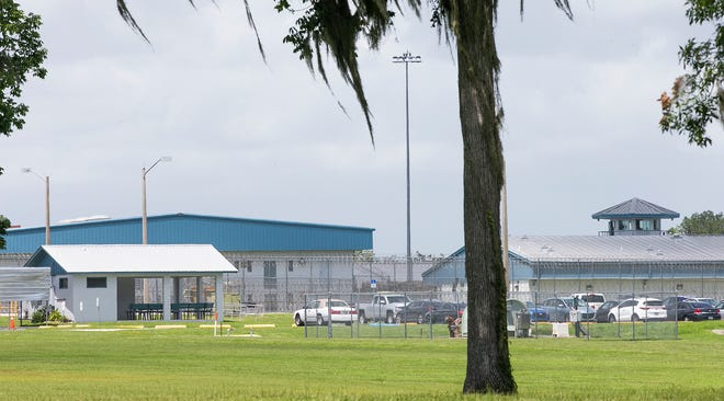 The Lowell Correctional Institution in Marion County, where an outbreak of COVID-19 cases has been reported. [Ocala Star-Banne, File]