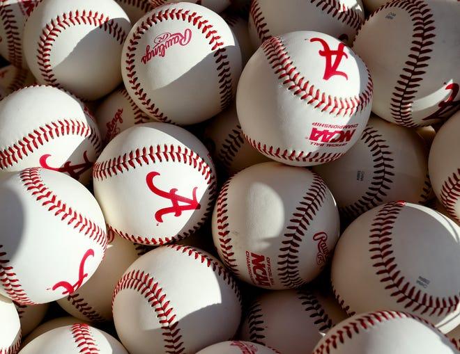 The Alabama baseball team opened practice Friday, Jan. 24, 2020. [Staff Photo/Gary Cosby Jr.]