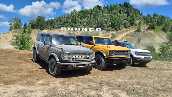 New Ford Broncos -- three times the fun