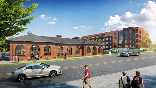 The redevelopment of a former powerhouse in Wauwatosa will include an Ally's Bistro location. It will be next to the new Crescent Apartments.