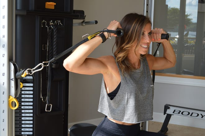 Amy Hopkins owns Anchor Fitness in Pewaukee.