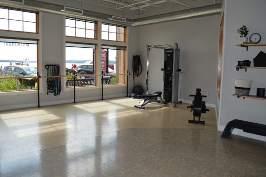 Anchor Fitness' main focus is one-on-one personal training sessions that are typically