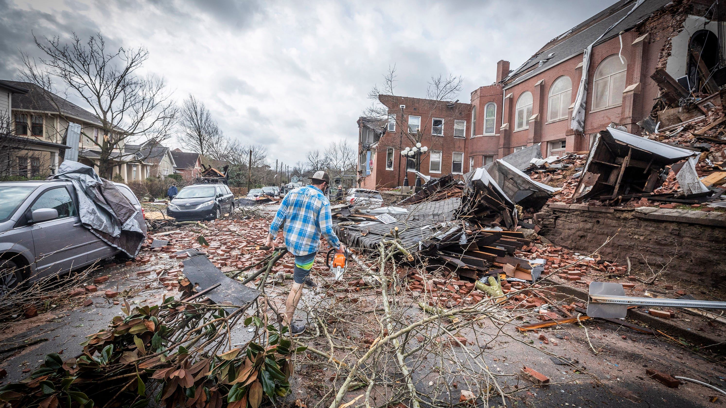 'A very active and devastating year': Tennessee had 35 tornadoes in 2020, NWS says