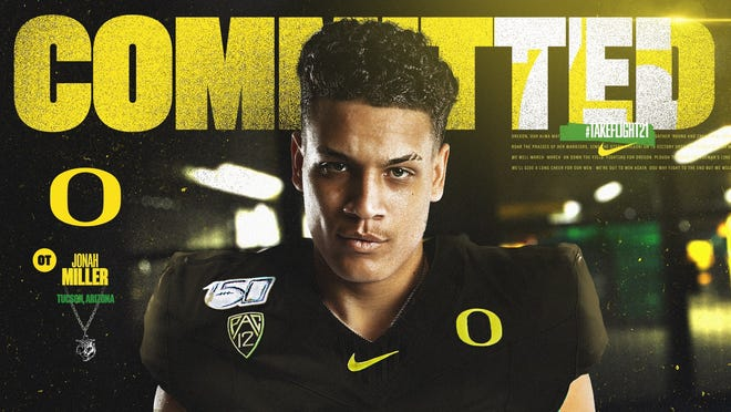 Jonah Miller is forgoing his senior high school season due to COVID-19 and will early enroll at Oregon. Jonah Miller