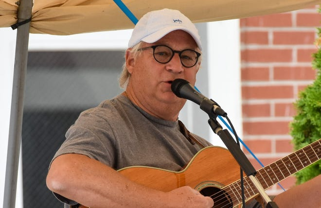 Jerry Davenport began writing songs about lake life 18 years ago at the age of 50. On Friday, he sang a few of them at RiverFront Live in downtown Port Clinton.