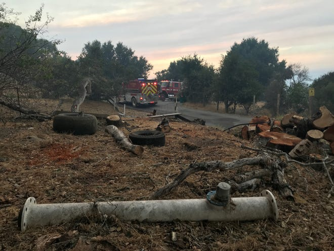 Cal Fire reported that firefighters increased containment for the River Fire.