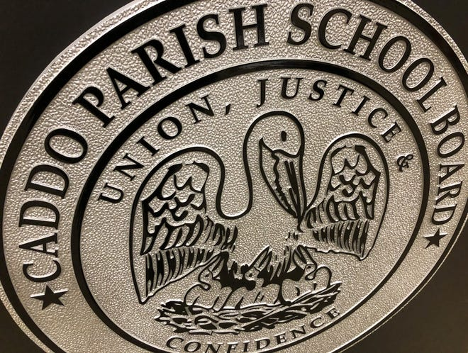 Pictured is the Caddo Parish School Board's seal.