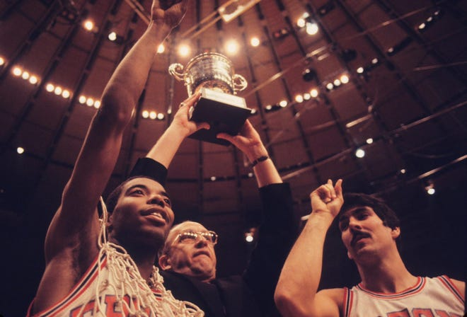 """Former Fresno State men's basketball coach Boyd""""Tiny"""" Grant died Monday morningon his 87th birthday."""