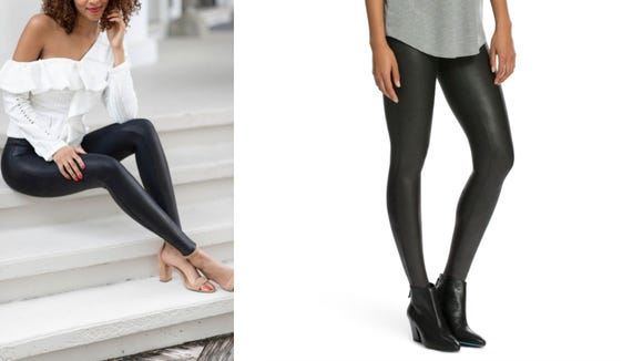Best gifts for girlfriends: Spanx Faux Leather Leggings