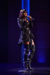 """Yvonne Orji in her HBO stand-up special """"Momma, I Made It!"""""""