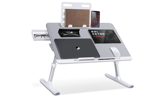 Need more space than the average Joe? SAIJI's got you covered with this lap desk.