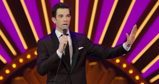 """John Mulaney in his special """"Kid Gorgeous."""""""