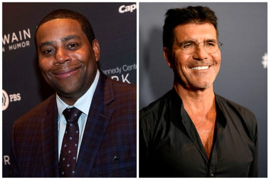 """Kenan Thompson will fill in for one week on the """"America's Got Talent"""" judging panel while Simon Cowell recovers from a back injury."""