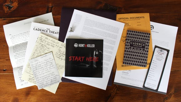 Each Hunt a Killer box provides you with an array of clues to help you solve the crime.