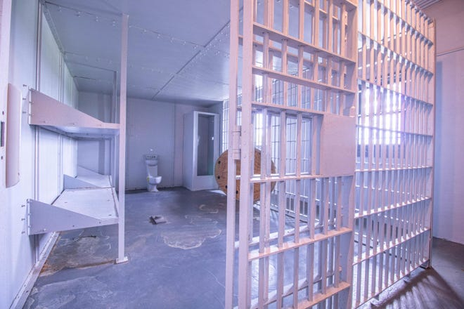 A home listed for sale in Missouri includes a lower level jail with nine cells.