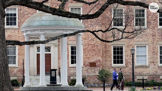 The University of North Carolina at Chapel Hill is moving to online classes just one week after reopening in-person.