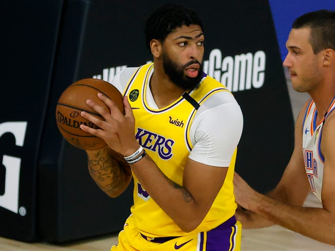 How will Anthony Davis bounce back from uneven bubble performances?