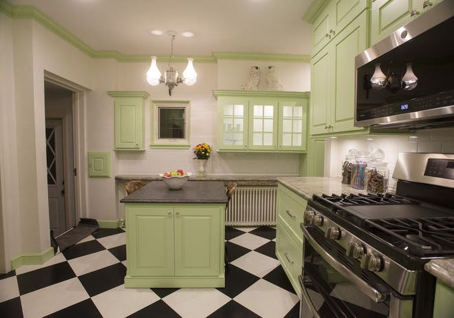 Ed and Denise DeMailo's 1930s style kitchen was one of several featured on last year's AAUW Kitchen Tour. This year's annual event has been canceled due to COVID-19 concerns.