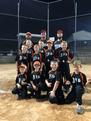 The Welcome Raiders were the Davidson County Babe Ruth U8 rookie tournament runner-ups. [Contributed photo]