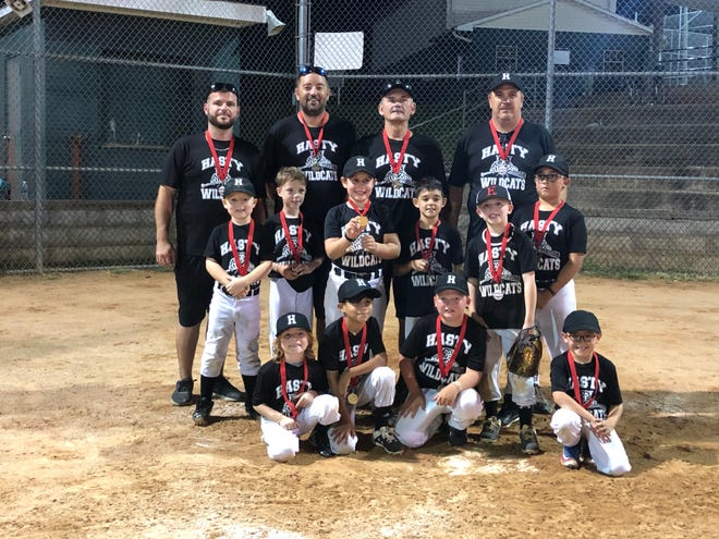 Hasty Wildcats win Davidson County Babe Ruth U8 rookie tournament.