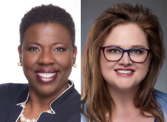 Incumbent Ida Wright, left, and Anita Burnette will face off in the general election for the Volusia County School Board's District 2 seat.