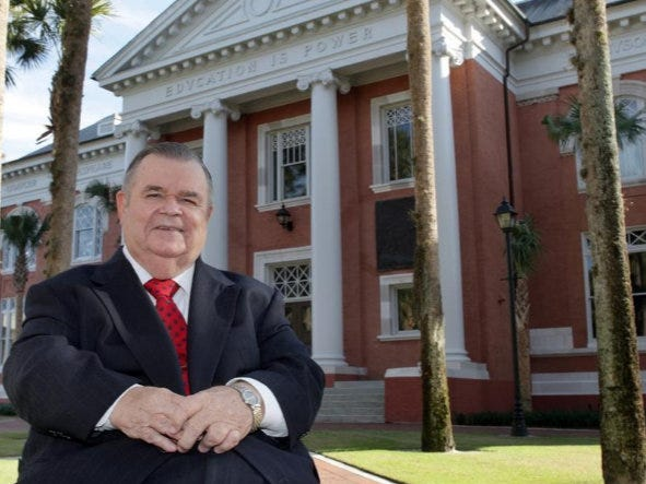 T. Wayne Bailey is a professor emeritus of political science at Stetson University in DeLand.