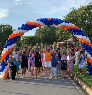 Faculty at The Bolles School Ponte Vedra campus welcomed students back to class on Aug. 13
