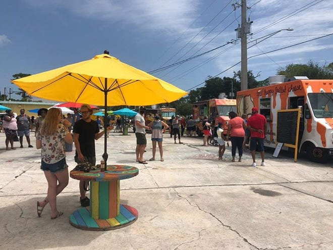 After the growing popularity of its Socially Distanced Food Truck Roundup on Saturdays, the Cultural Corridor has added a monthly Friday-night event in Atlantic Beach.