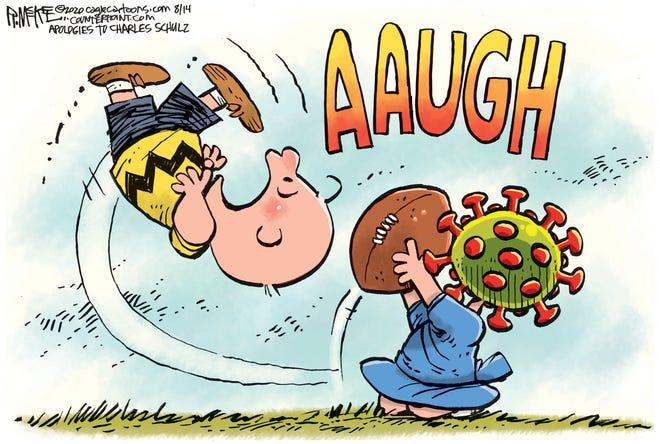 Rick McKee, Cagle Cartoons