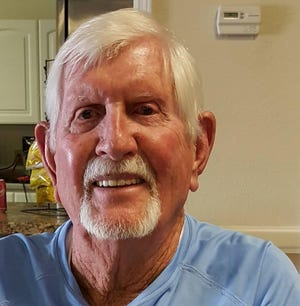 Chuck Black, who coached swimming at Kathleen High, the Lakeland YMCA and Lakeland Country Club for decades, died this week. He was 86. [PROVIDED BY THE FAMILY]