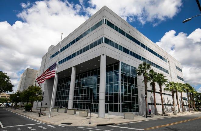 The Marion County Judicial Center in Ocala.